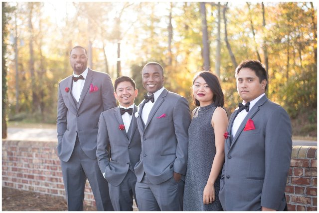 Beautiful Autumn Wedding at Smithfield Center in Smithfield Virginia Rowlands Photography_0157