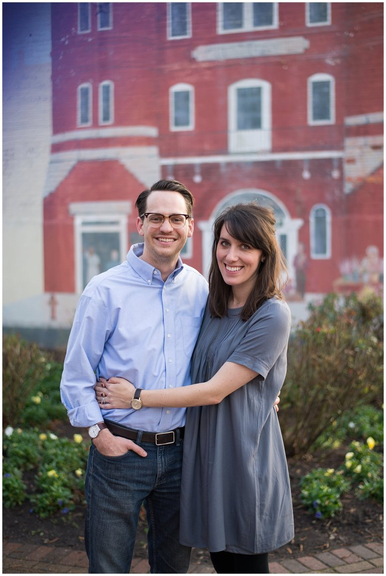Downtown Suffolk Virginia Couple Portrait Session_0274
