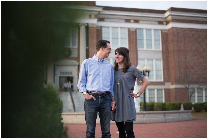 Cultural Arts Center of Suffolk Virginia Couple Portrait
