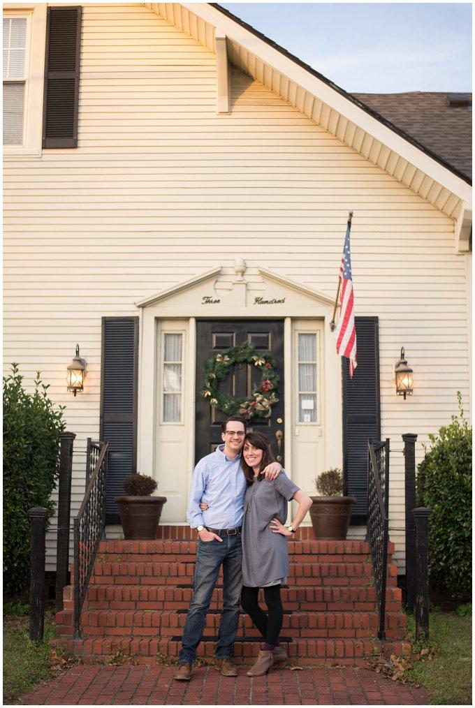 Downtown Suffolk Virginia Couple Portrait Session_0293