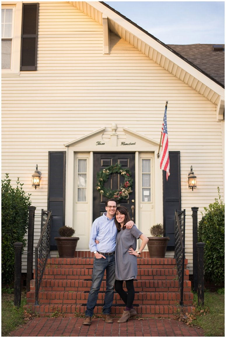 Downtown Suffolk Virginia Couple Portrait Session_0293