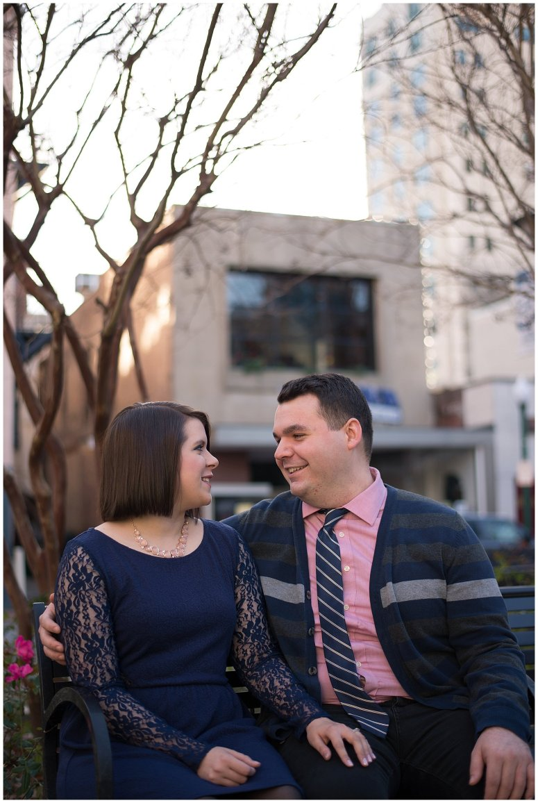 Downtown Suffolk Virginia Couple Portrait Session_0304