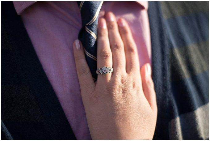 Macro Engagement Ring Shot