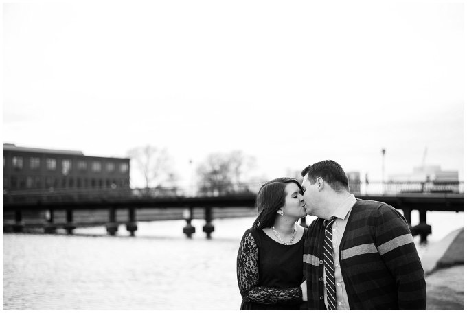 Downtown Norfolk, Virginia Winter Engagement Session