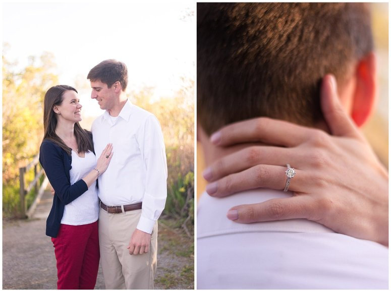 Back Bay Wildlife Refuge Virginia Beach Engagement Session_0483