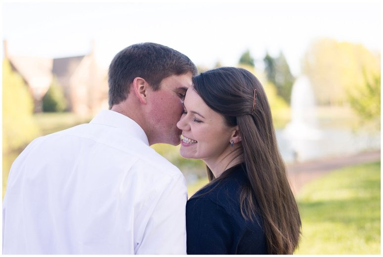 Classy Regent University Virginia Beach Engagement Session_0486