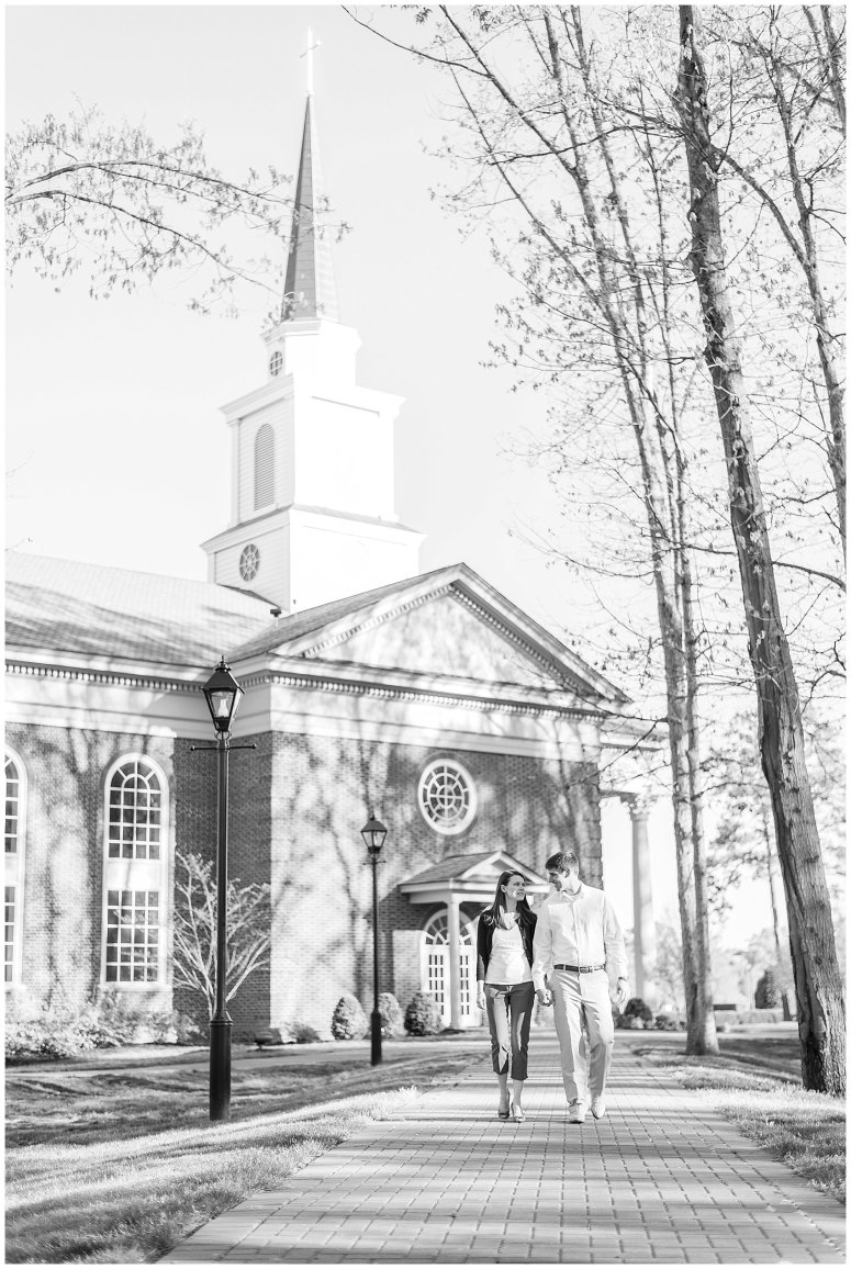 Classy Regent University Virginia Beach Engagement Session_0495