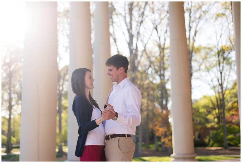 Classy Regent University Virginia Beach Engagement Session_0496