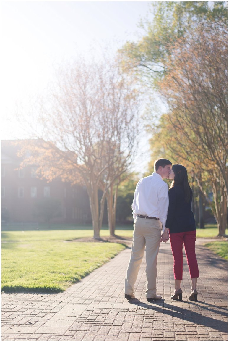 Classy Regent University Virginia Beach Engagement Session_0505
