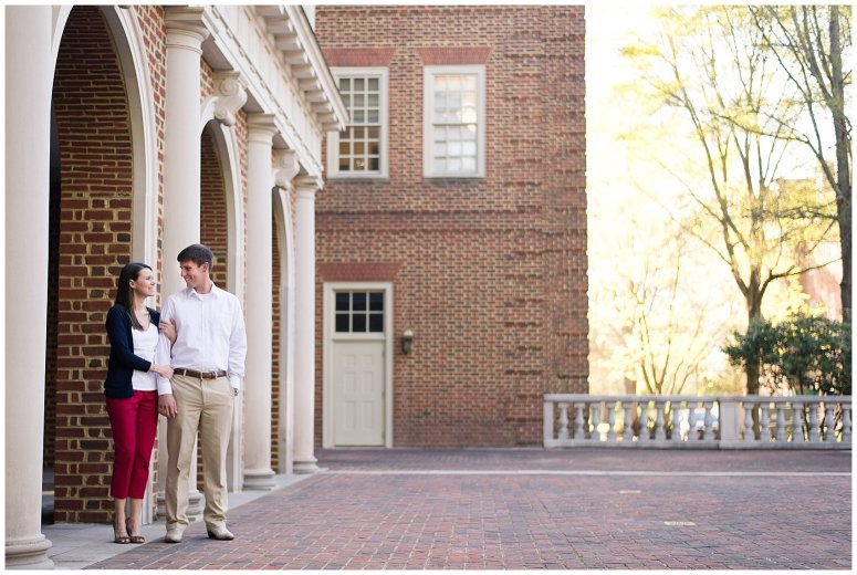 Classy Regent University Virginia Beach Engagement Session_0506