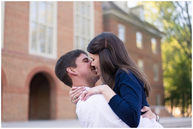Classy Regent University Virginia Beach Engagement Session_0507
