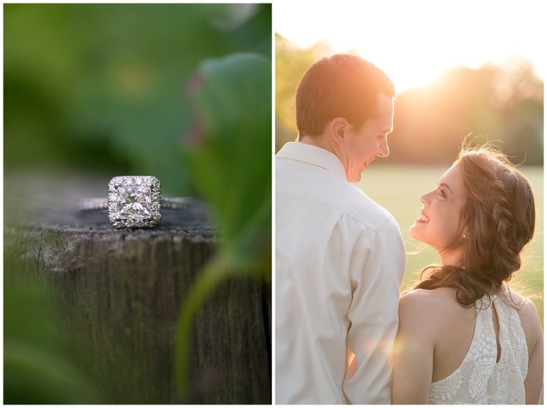 Golden Hour Sunset Couple Session at Windsor Castle Park Smithfield Virginia_0868