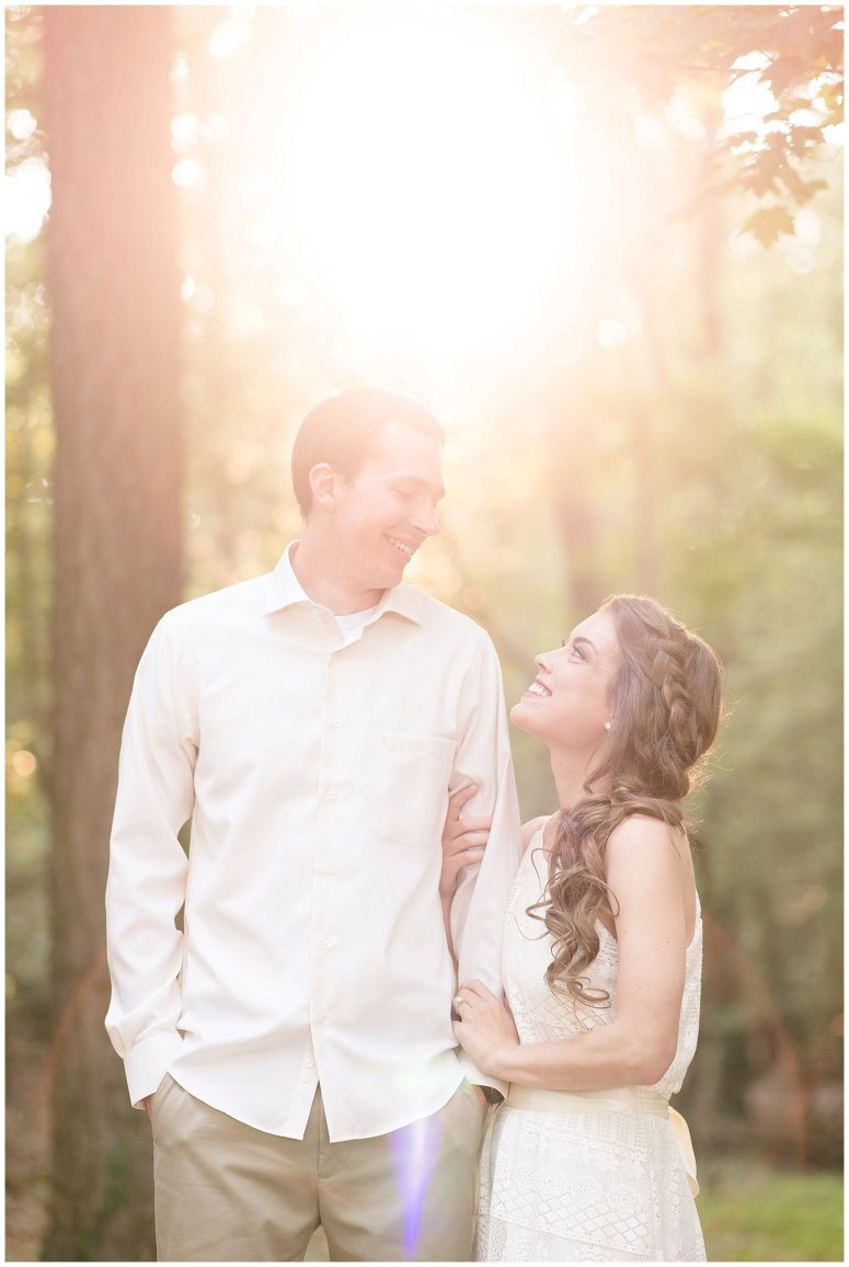 Golden Hour Sunset Couple Session at Windsor Castle Park Smithfield Virginia_0869