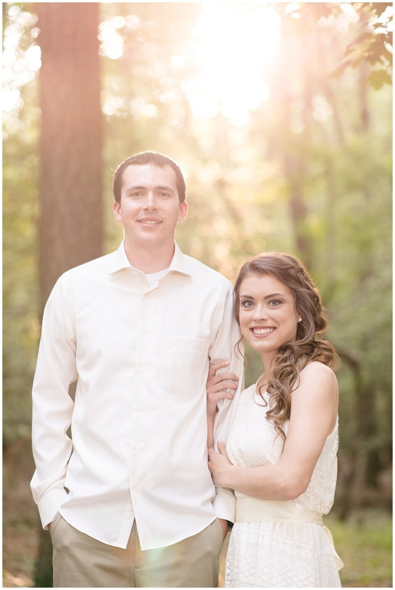 Golden Hour Sunset Couple Session at Windsor Castle Park Smithfield Virginia_0875