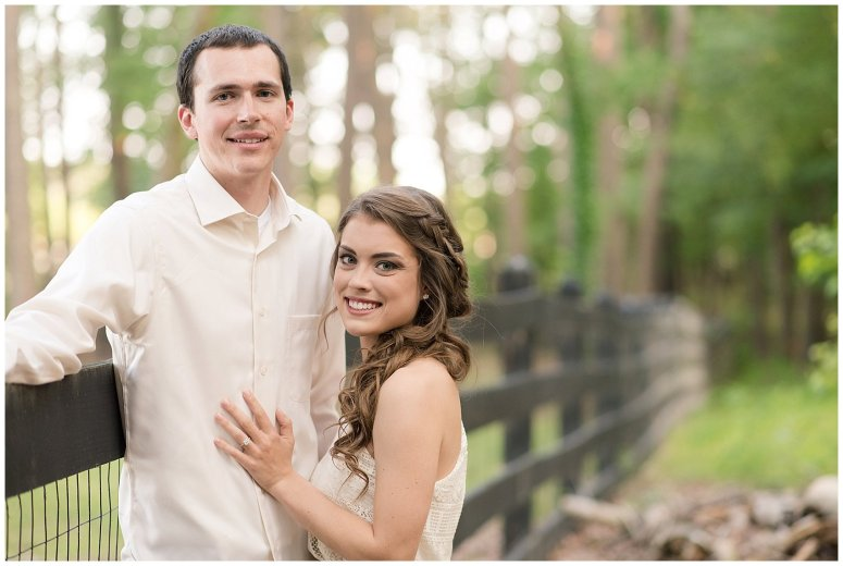 Golden Hour Sunset Couple Session at Windsor Castle Park Smithfield Virginia_0878
