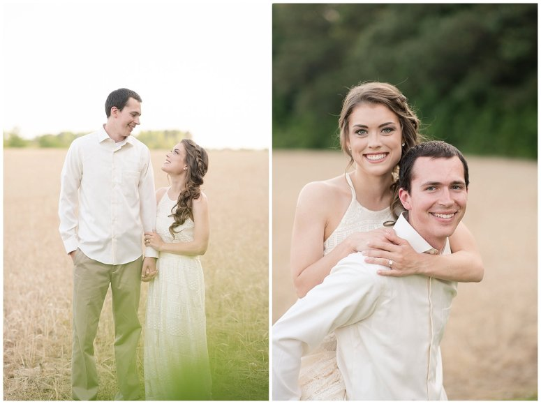 Golden Hour Sunset Couple Session at Windsor Castle Park Smithfield Virginia_0887
