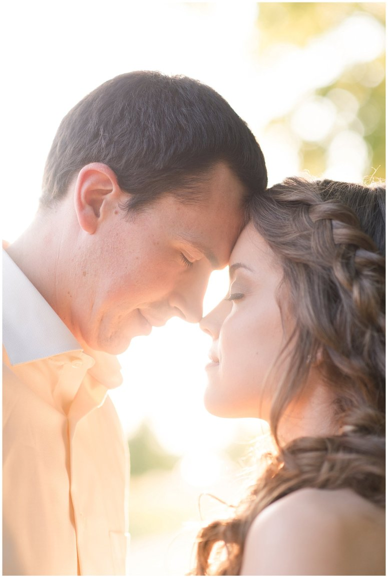 Golden Hour Sunset Couple Session at Windsor Castle Park Smithfield Virginia_0889