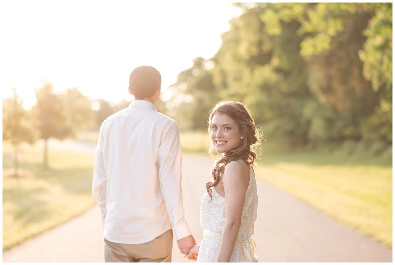 Golden Hour Sunset Couple Session at Windsor Castle Park Smithfield Virginia_0891