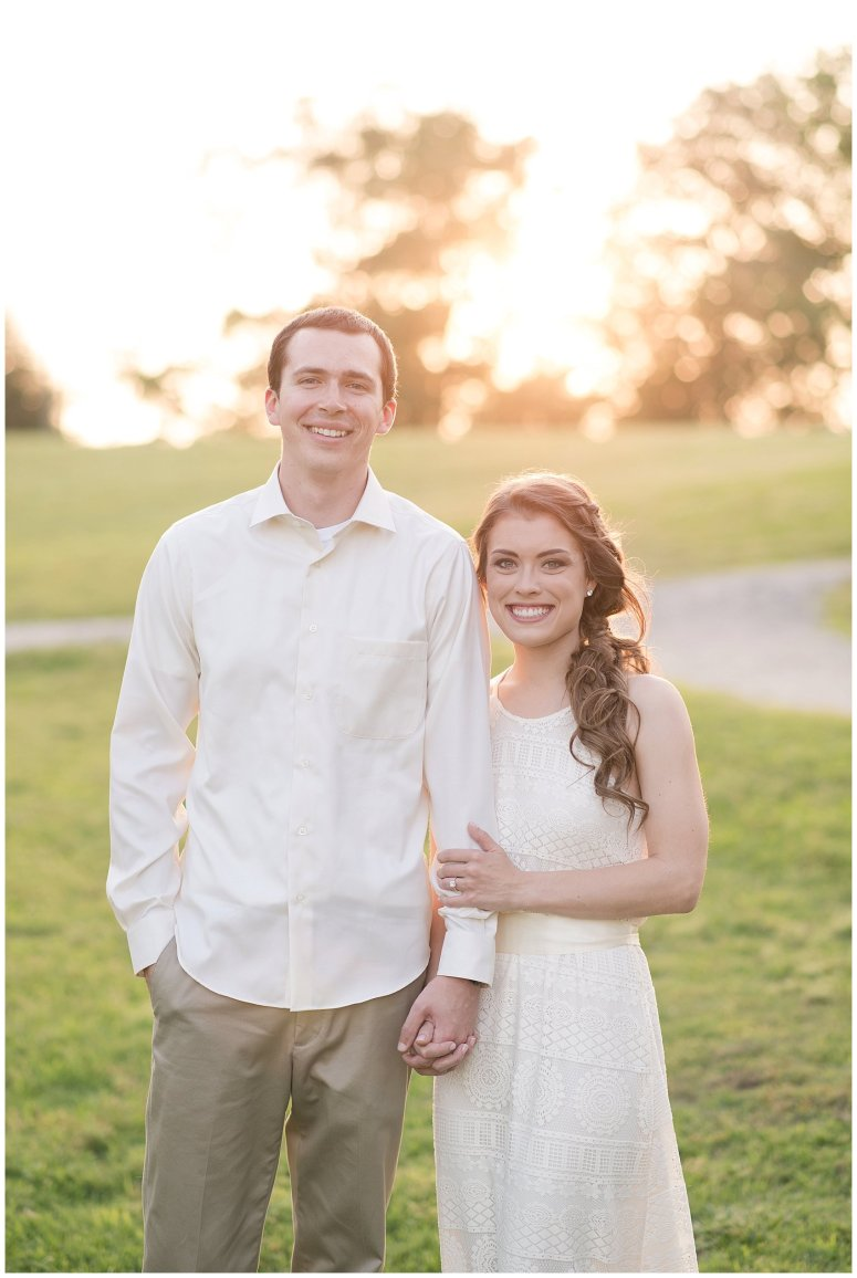 Golden Hour Sunset Couple Session at Windsor Castle Park Smithfield Virginia_0904