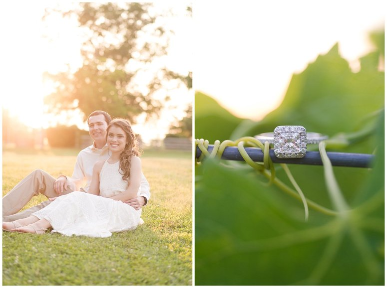 Golden Hour Sunset Couple Session at Windsor Castle Park Smithfield Virginia_0905