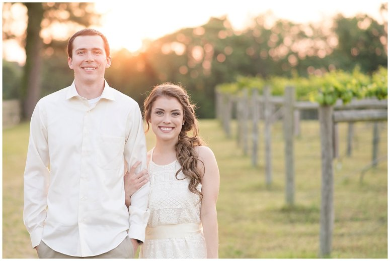 Golden Hour Sunset Couple Session at Windsor Castle Park Smithfield Virginia_0912