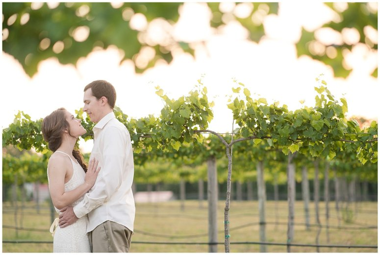 Golden Hour Sunset Couple Session at Windsor Castle Park Smithfield Virginia_0913