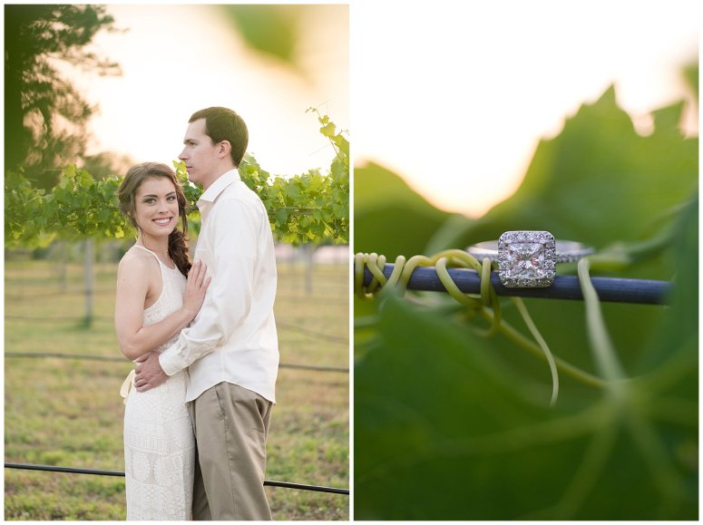 Golden Hour Sunset Couple Session at Windsor Castle Park Smithfield Virginia_0914