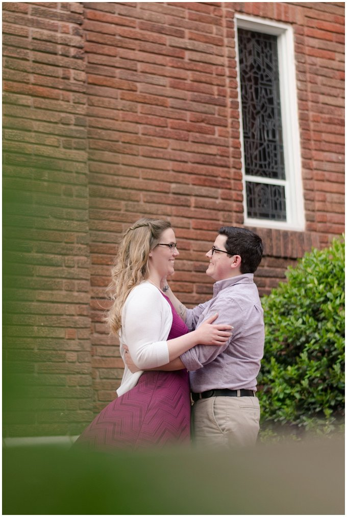 Historic Church Suffolk Virginia Engagement Session_0589