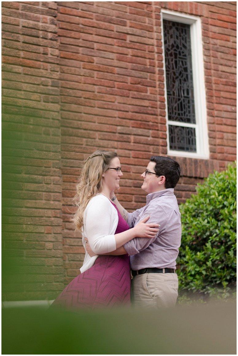 Historic Church Suffolk Virginia Engagement Session_0589