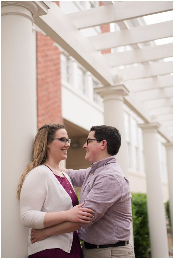 Historic Church Suffolk Virginia Engagement Session_0599