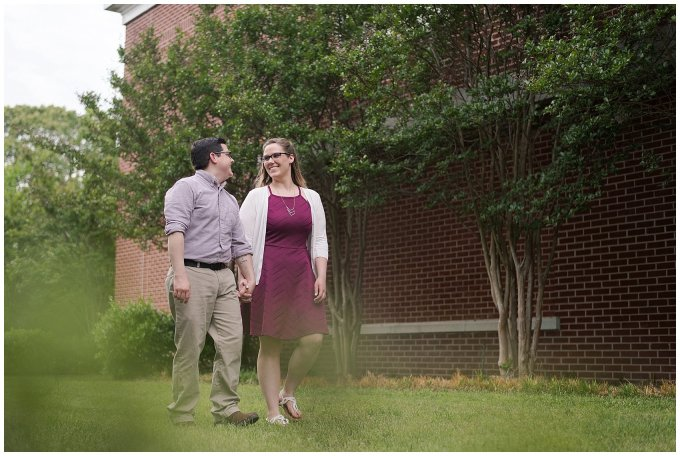 Historic Church Suffolk Virginia Engagement Session_0601