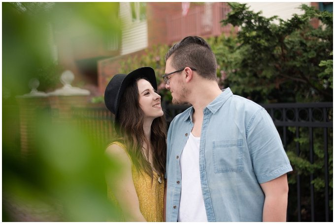 Romantic Downtown Ghent Norfolk Engagement Session_0524