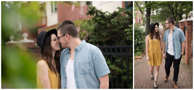 Romantic Downtown Ghent Norfolk Engagement Session_0526