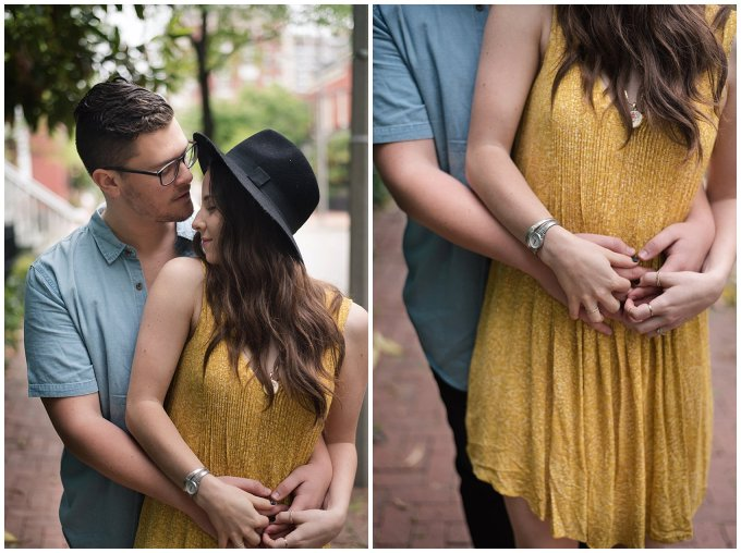 Romantic Downtown Ghent Norfolk Engagement Session_0530