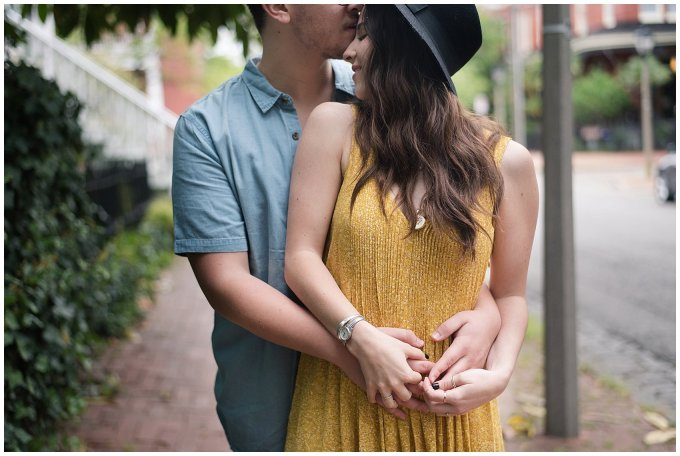 Romantic Downtown Ghent Norfolk Engagement Session_0531