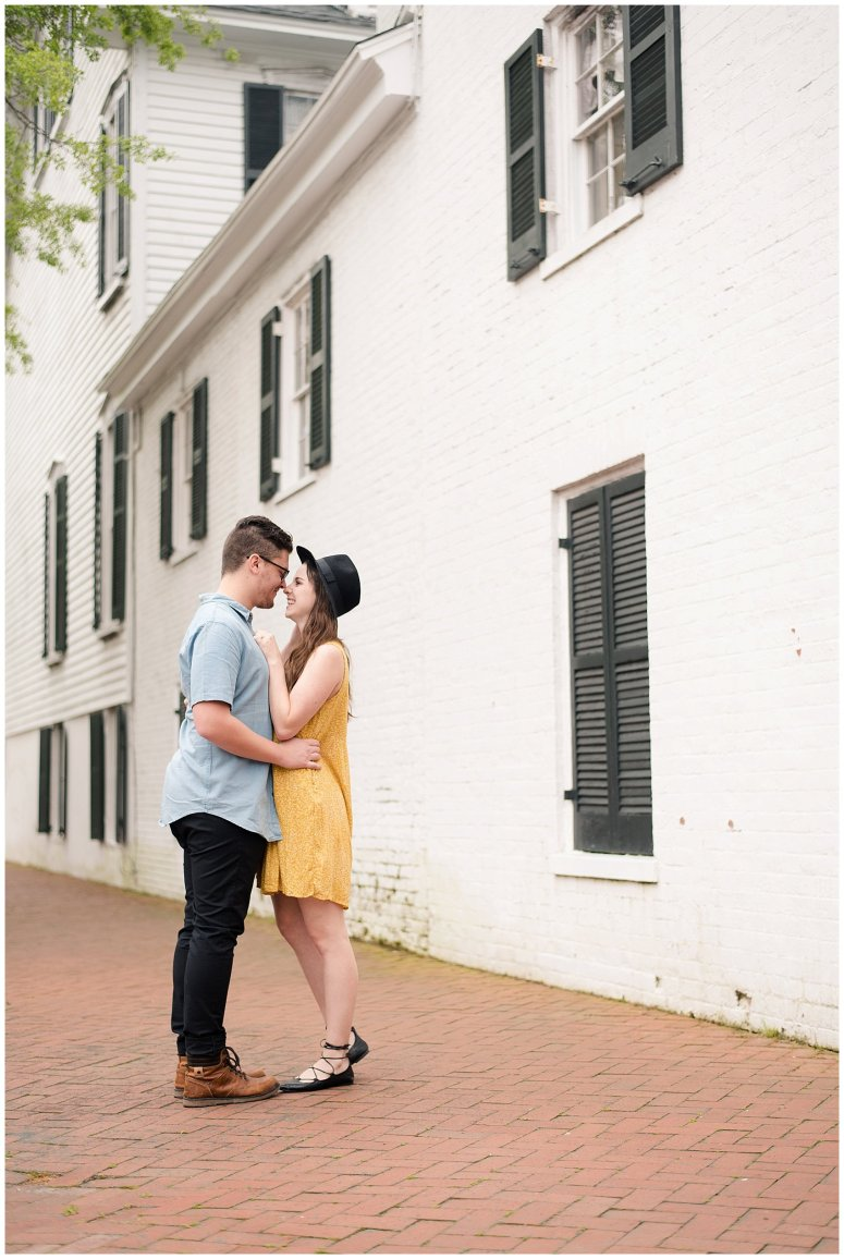 Romantic Downtown Ghent Norfolk Engagement Session_0535
