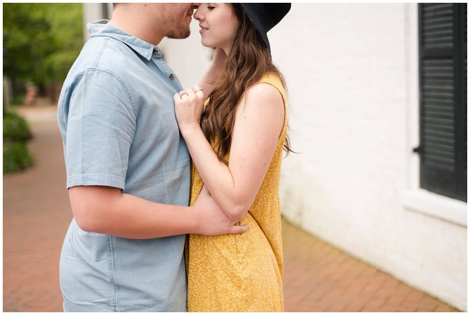 Romantic Downtown Ghent Norfolk Engagement Session_0536