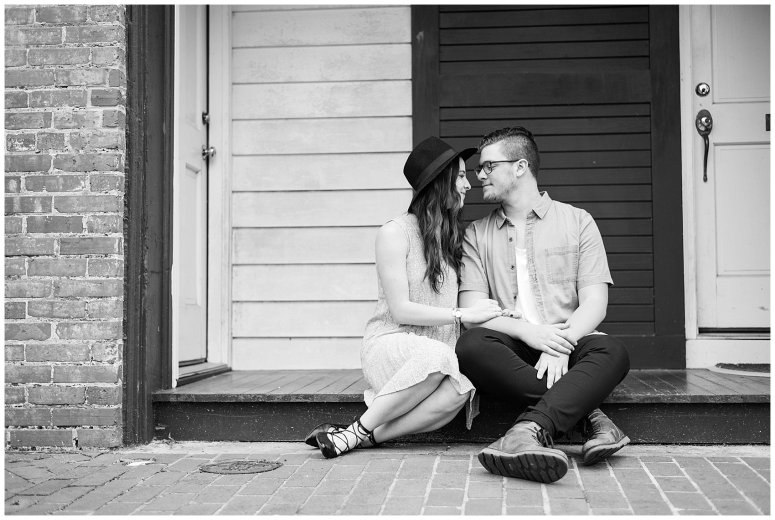 Romantic Downtown Ghent Norfolk Engagement Session_0538
