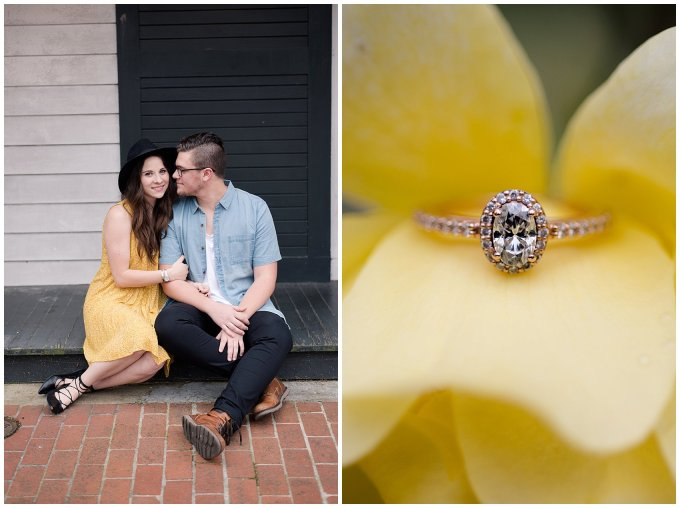 Romantic Downtown Ghent Norfolk Engagement Session_0539