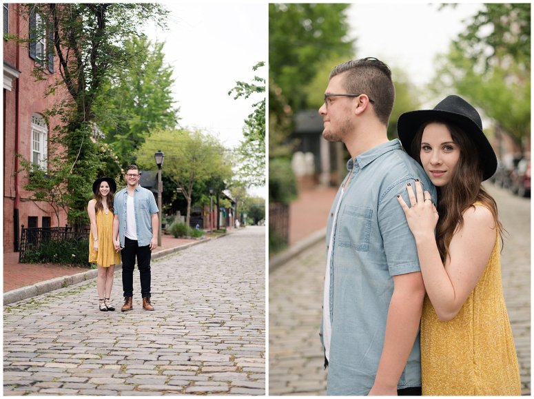 Romantic Downtown Ghent Norfolk Engagement Session_0543