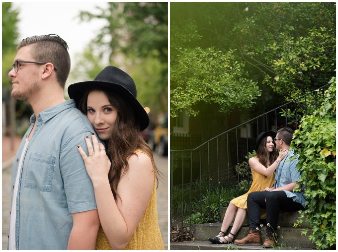 Romantic Downtown Ghent Norfolk Engagement Session_0553