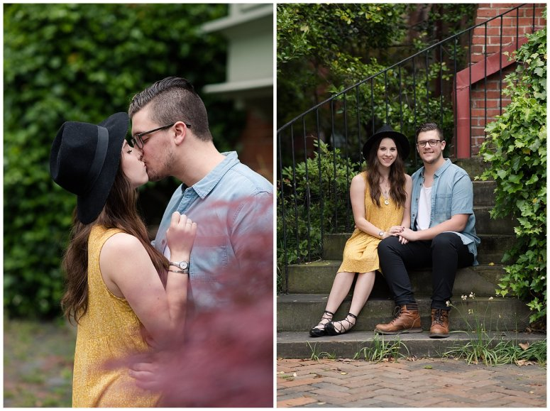 Romantic Downtown Ghent Norfolk Engagement Session_0554