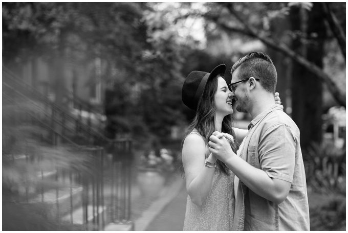 Romantic Downtown Ghent Norfolk Engagement Session_0557