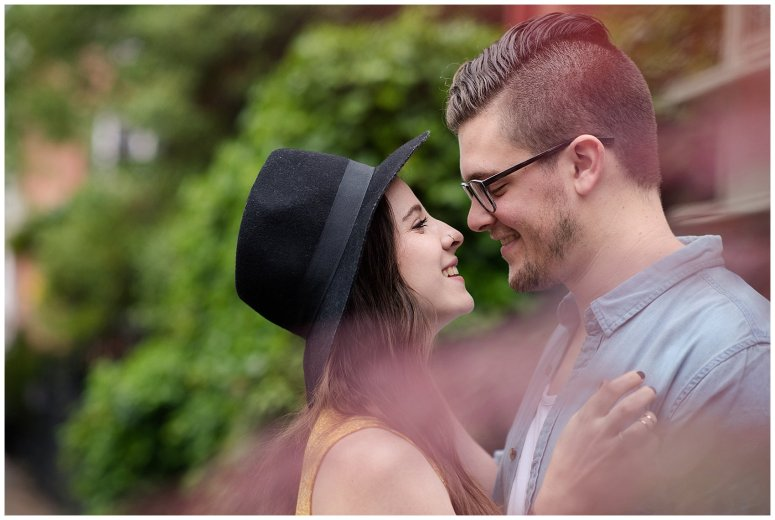 Romantic Downtown Ghent Norfolk Engagement Session_0560