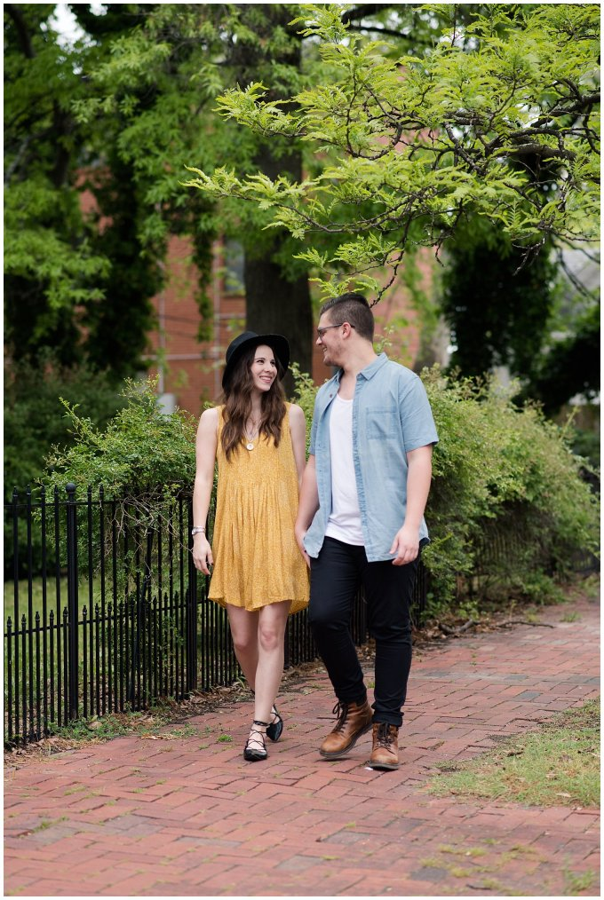 Romantic Downtown Ghent Norfolk Engagement Session_0561
