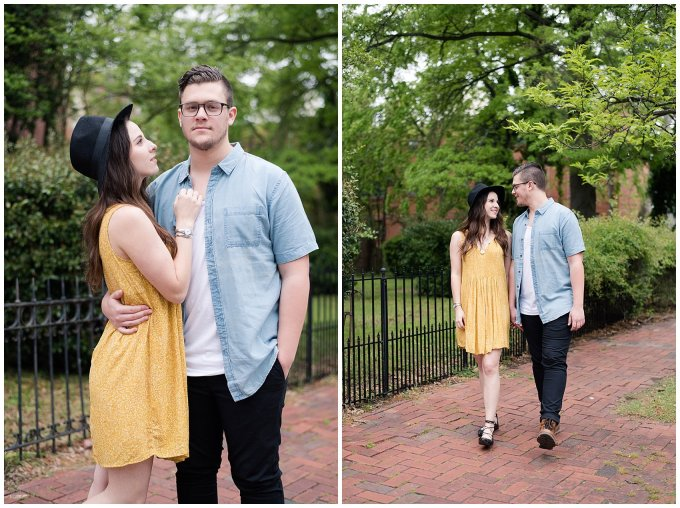 Romantic Downtown Ghent Norfolk Engagement Session_0562