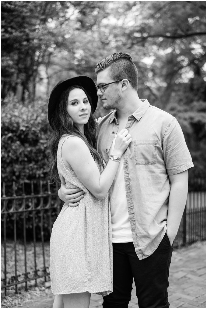Romantic Downtown Ghent Norfolk Engagement Session_0563