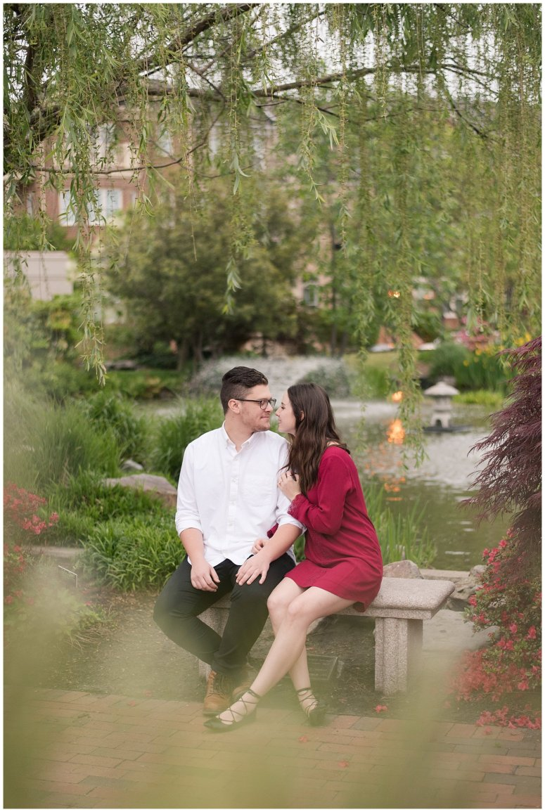 Romantic Downtown Ghent Norfolk Engagement Session_0573