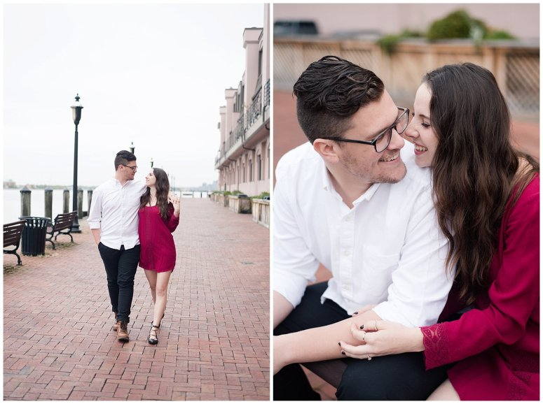 Romantic Downtown Ghent Norfolk Engagement Session_0580