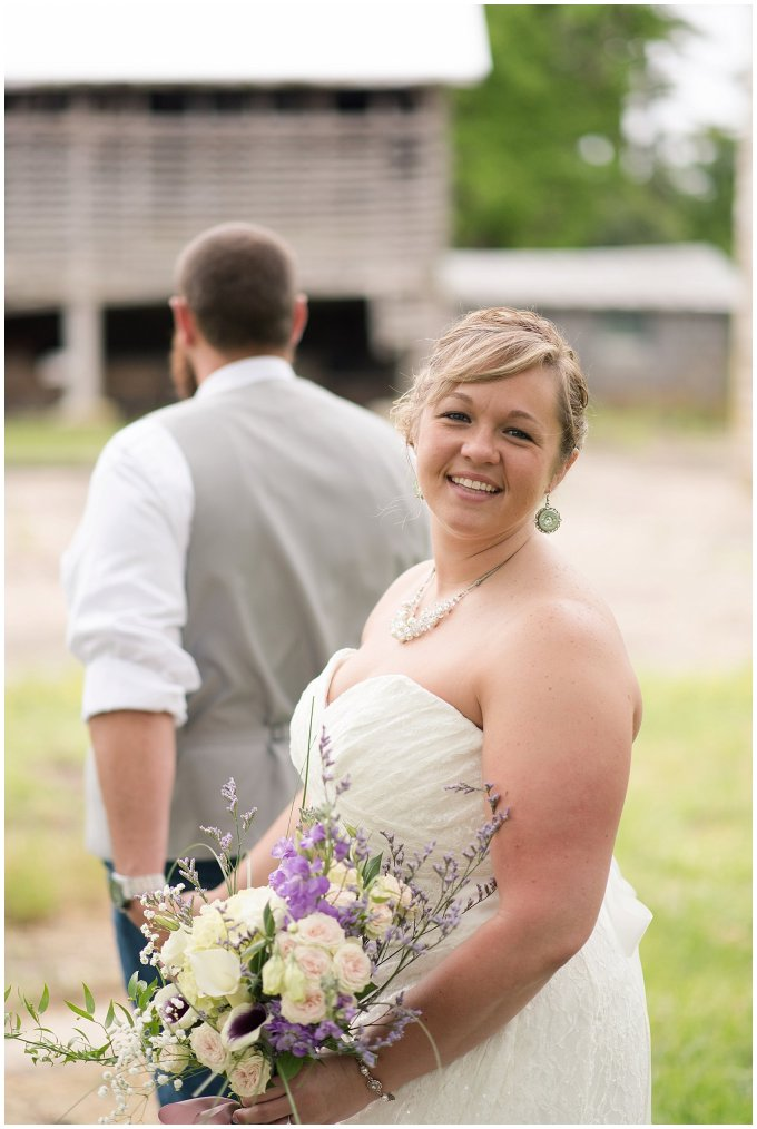 Rustic Country Barn Wedding Meadowbrook Farm Suffolk Virginia_0745